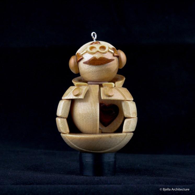 Snowman Ornament Locket by Tim Bjella-8