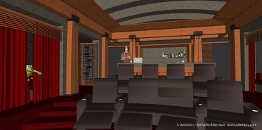 California Modern Home Theater Design by Tim Bjella - 2-6