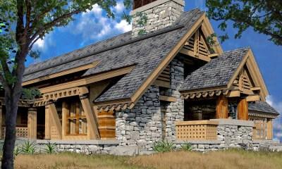 Bjella-Architects-Modern-Heavy-Timber-Mountain-Home