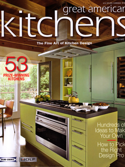 Bjella Architects Modern House Magazine-Great American Kitchens