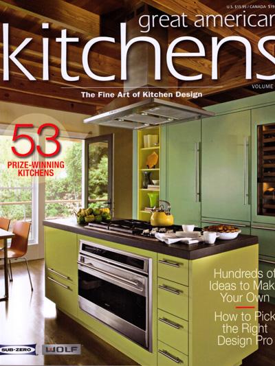 Bjella Architects Modern House Magazine-Great American Kitchens