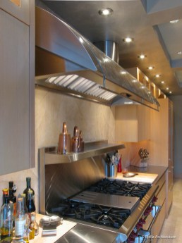 Custom Arched Stainless Steel Vent Hood