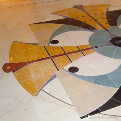 Custom Tile Floor Emblem