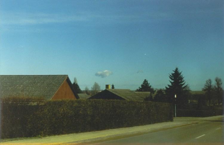 Skyen over Gevninge, nord for Roskilde. Foto: Ommelsted