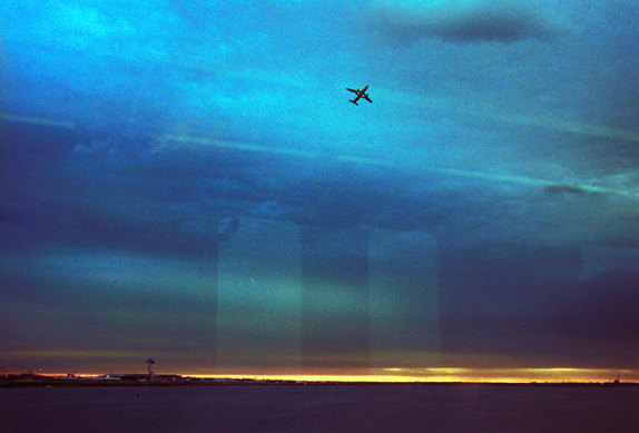 Skyen i John F. Kennedy Airport, New York. Foto: Jasmina Nielsen