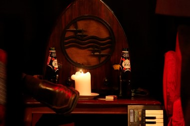 Øl og sko i Løwerts Legathjem