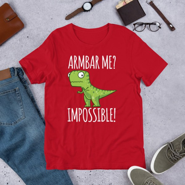 Brazilian Jiu-Jitsu T-Shirt Armbar T-rex? not possible! 5
