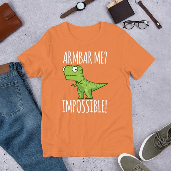Brazilian Jiu-Jitsu T-Shirt Armbar T-rex? not possible! 4