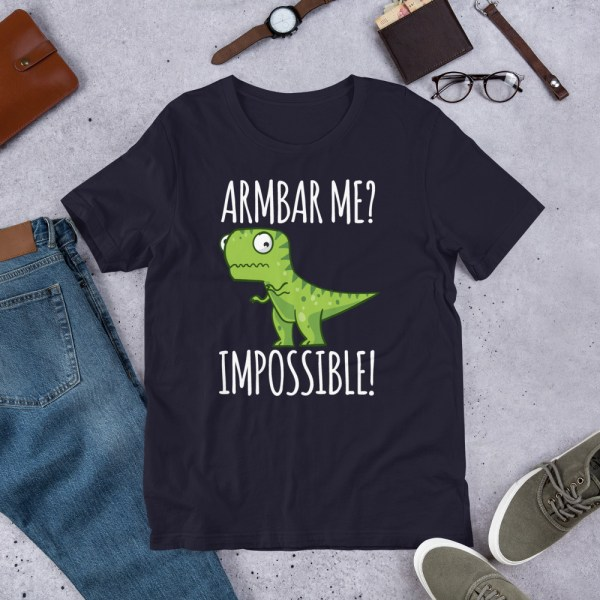 Brazilian Jiu-Jitsu T-Shirt Armbar T-rex? not possible! 3