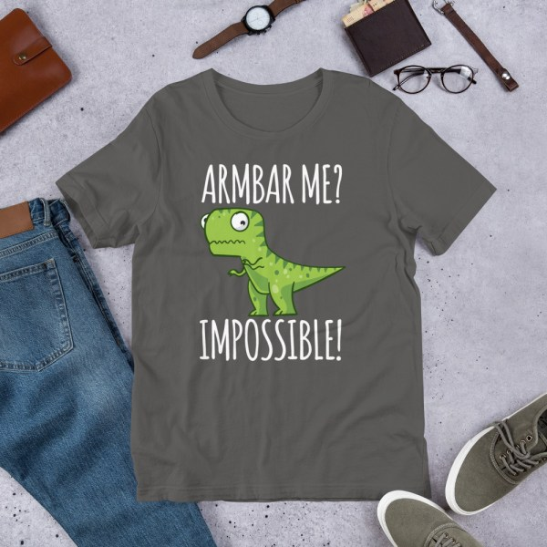 Brazilian Jiu-Jitsu T-Shirt Armbar T-rex? not possible! 2
