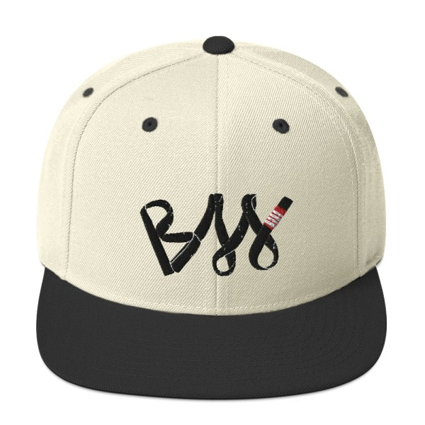 BJJ Snapback Hat BJJ Black belt 1