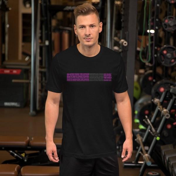 Show Your Rank By BJJ Short-Sleeve T-Shirt Brazilian Jiu-Jitsu BJJ Purple Belt – BJJ Submission 2