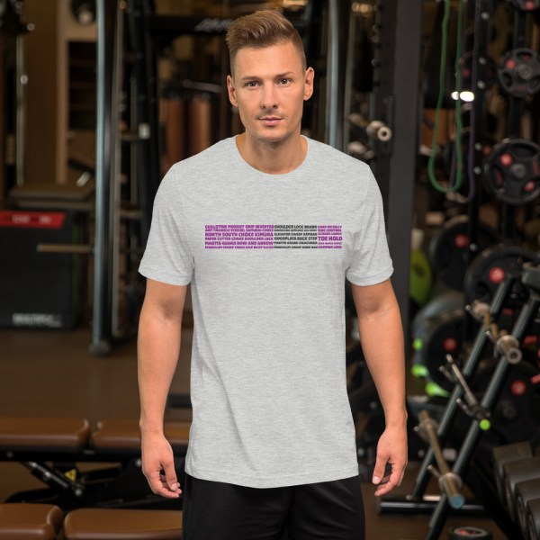 Show Your Rank By BJJ Short-Sleeve T-Shirt Brazilian Jiu-Jitsu BJJ Purple Belt – BJJ Submission 5