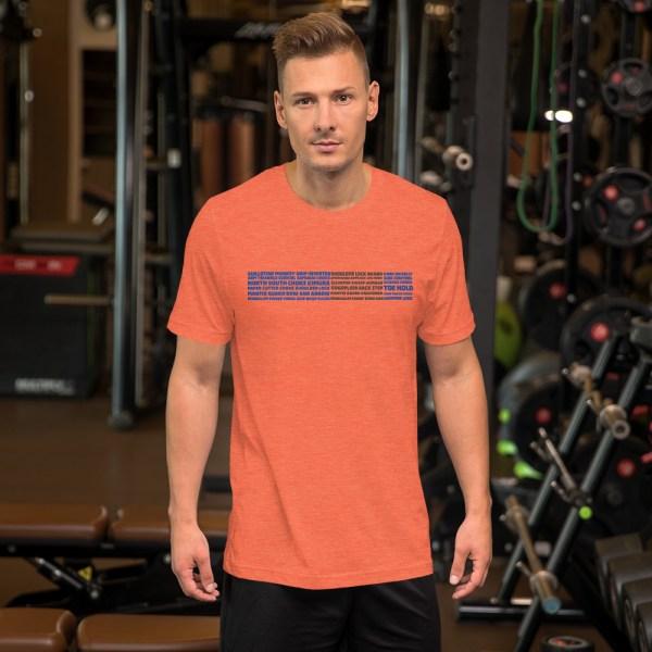 Show Your Rank By BJJ Short-Sleeve T-Shirt Brazilian Jiu-Jitsu BJJ Blue Belt – BJJ Submission 6