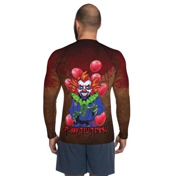 BJJ Men's Rash Guard The scariest Clown - IT 2