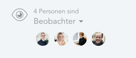 Beobachter in Meistertask