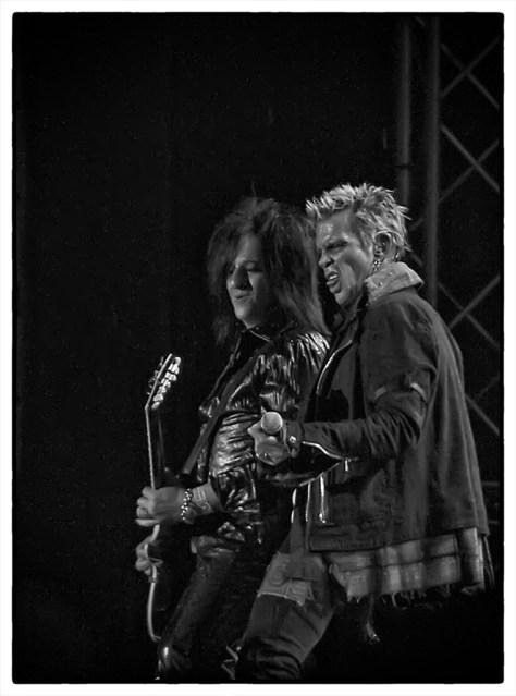 Billy Idol & Steve Stevens, Sweden Rock 2010