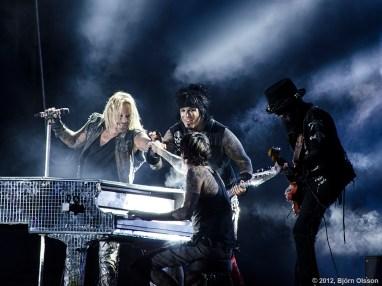 Mötley Crüe, Sweden Rock 2012