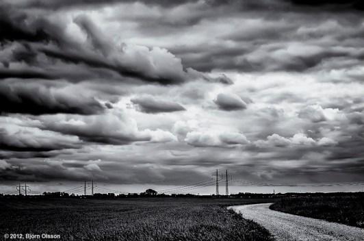 Fields outside Lund, Sweden