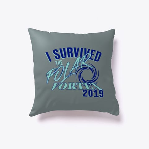 I Survived the Polar Vortex 2019 Pillow