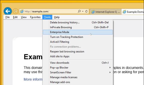 Enable and Use Internet Explorer 11 Enterprise Mode   BTNHD