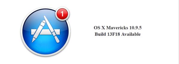 OS X Mavericks 10.9.5 Build 13F18