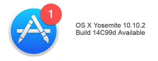 OS X Yosemite Build 14C99d