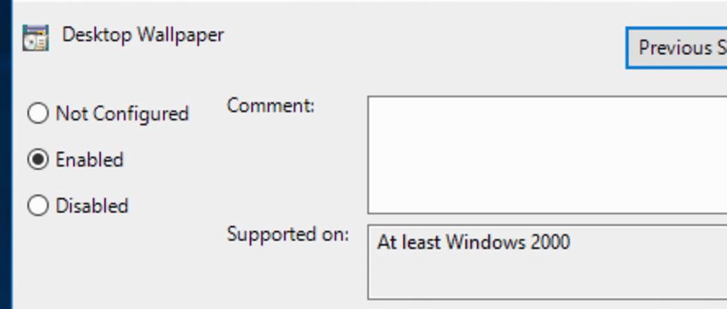 How to Configure and Deploy Windows 10 Desktop Wallpaper
