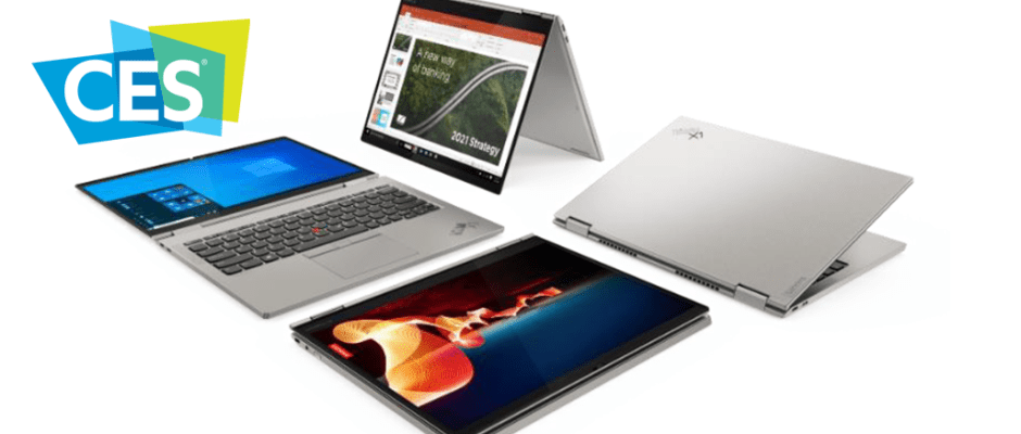 ThinkPad X1 Laptops CES 2021