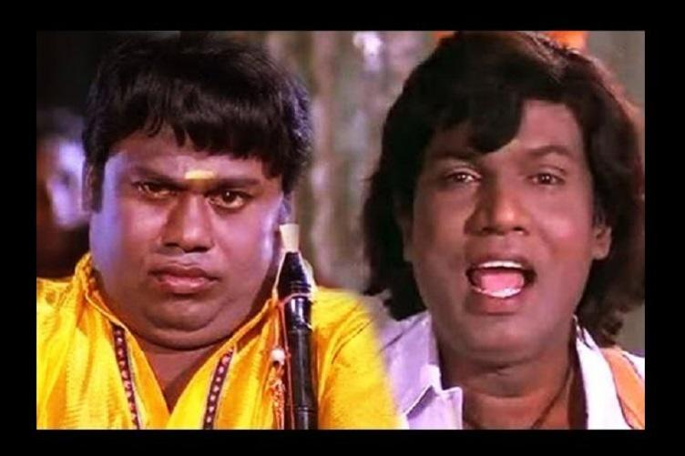 comedy Tamil Indian cinema Goundamani Senthil