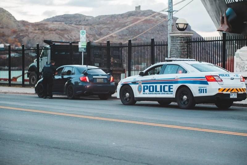 enforcement fine traffic law police summon