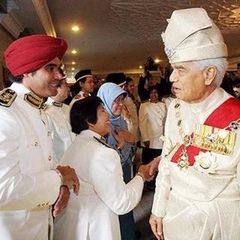 Sultan Perak Sultan Azlan Shah Keshwinder Singh A/L Keshmir ExcuseSingh