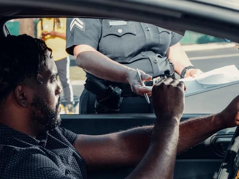 police summon ticket traffic law
