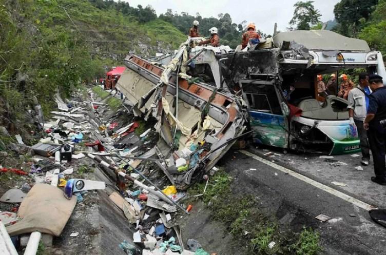bus death malaysia cameron highlands