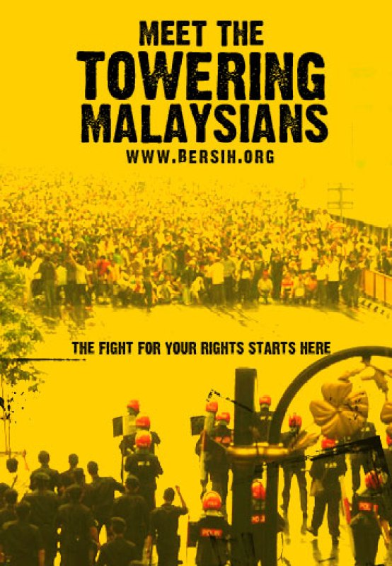 Bersih 2.0 rally election protest