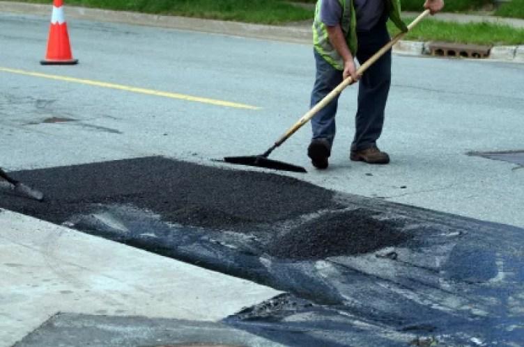roadworks repair