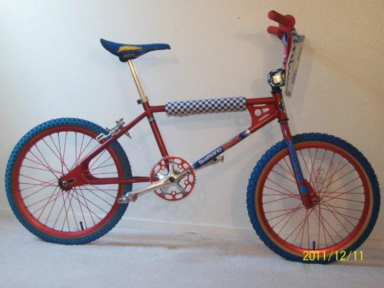 childhood bmx bicycle shimano