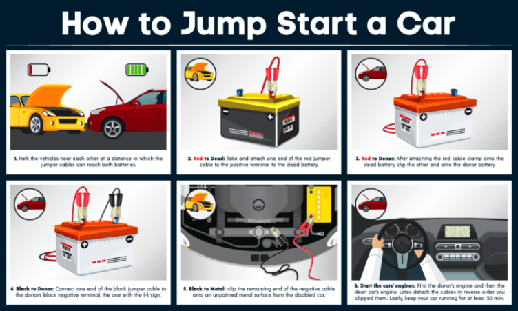 car battery jump start power