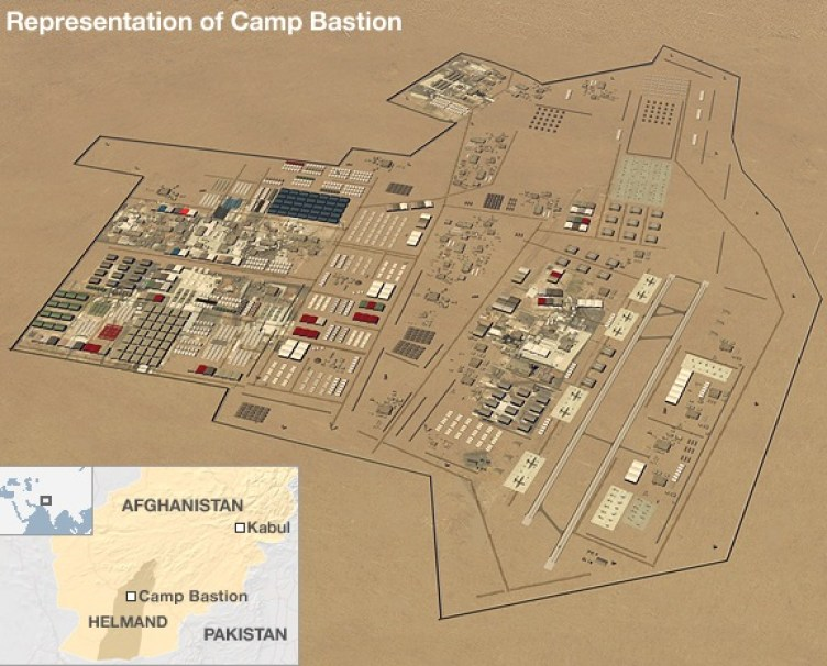 camp bastion project management military base afghanistan