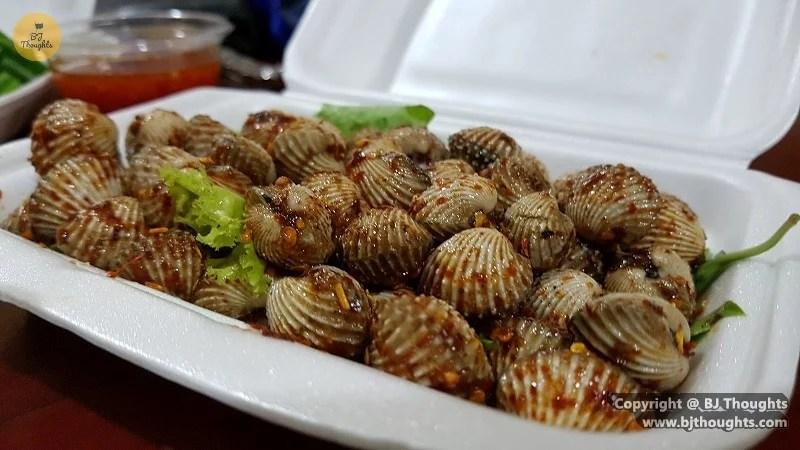 cockles thai cambodia food foodpanda