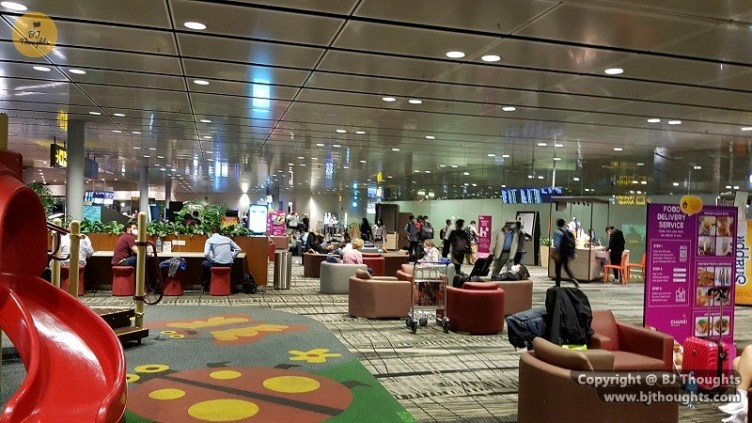 transit holding area changi singapore airport