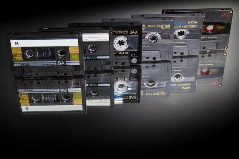Dolby NR TDK Cassette Tape