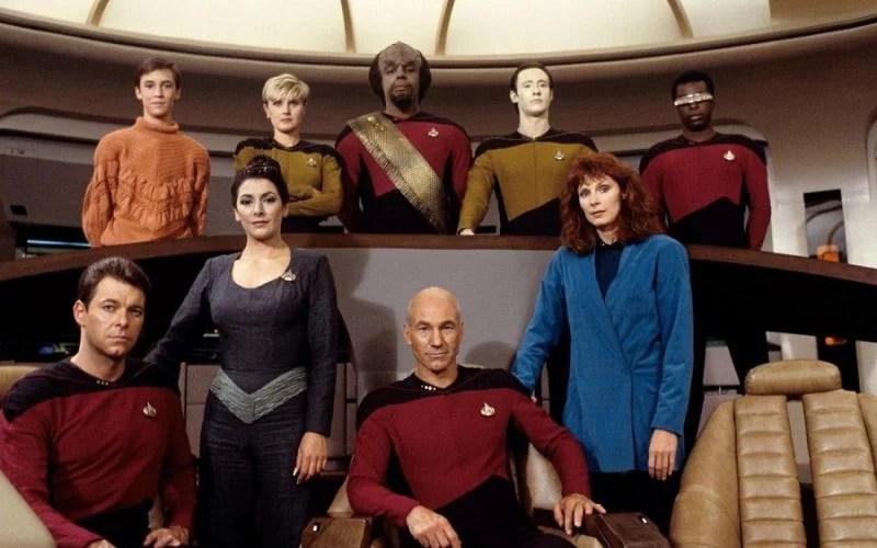 Star Trek The Next Generation Jean Luc Picard TV Series