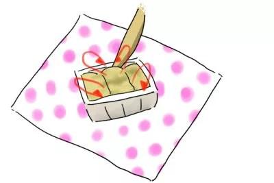信玄餅_食べ方3