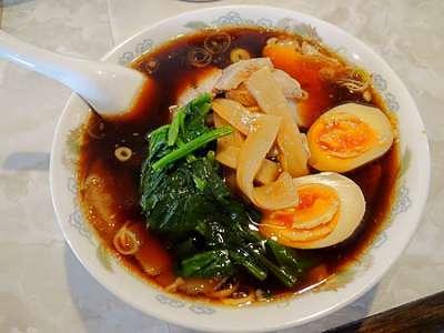 しょうがの風味が効いた変わり種スープ~玄武