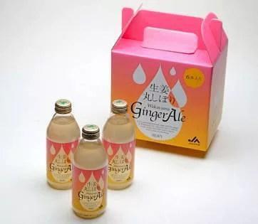 パンチの効いた味!「生姜丸しぼり Wakayama Ginger Ale」