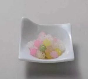 金箔入り金平糖:金箔の老舗プロデュースの和菓子です