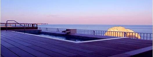 海がすぐそこに、磯原シーサイドホテル