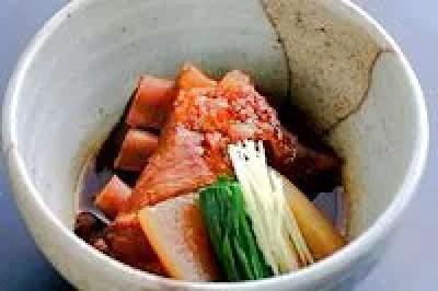 鹿児島の伝統料理の1つ!とんこつ