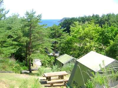 ⑤フェリーで行こう!休暇村気仙沼大島キャンプ場